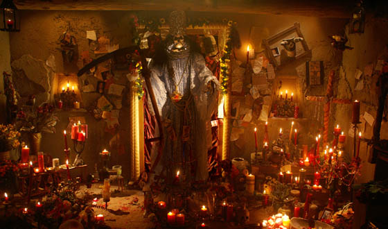 The Prayer of the Santa Muerte Photo Gallery