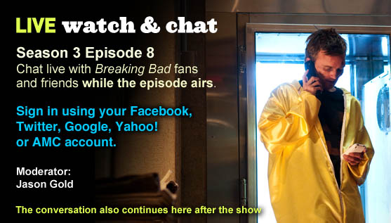 Watch and Chat About Episode 8 Tonight!