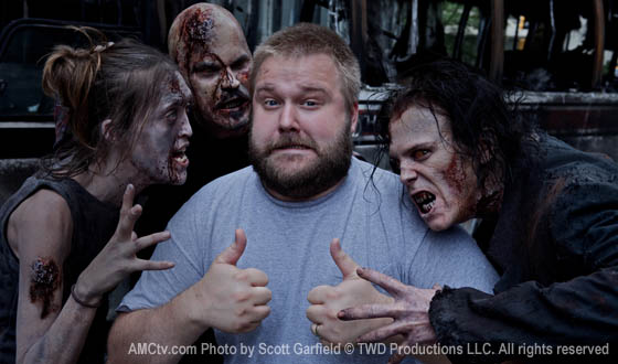 Dispatches From the Set – Comic Creator and Series Executive Producer Robert Kirkman