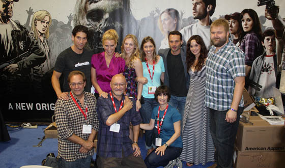<em>The Walking Dead</em> Cast and Crew Invade Comic-Con