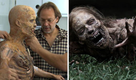 Video &#8211; Making Up <em>The Walking Dead</em>&#8216;s Bicycle Girl