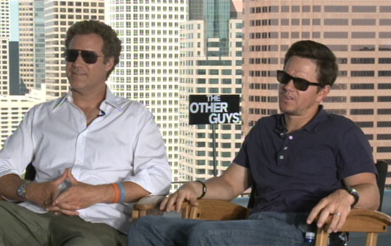 Video – Mark Wahlberg Tackles Tunas, Improv With Will Ferrell in The Other Guys