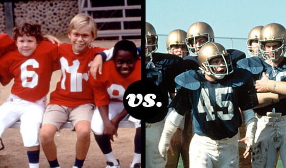 The <em>Little Giants</em> and <em>Rudy</em>'s Fighting Irish Kick Off a Tourney of Movie Football Teams