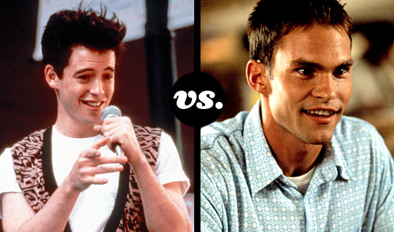 Ferris Bueller. Steve Stifler. The Movie-Teen Popularity Contest Is On!