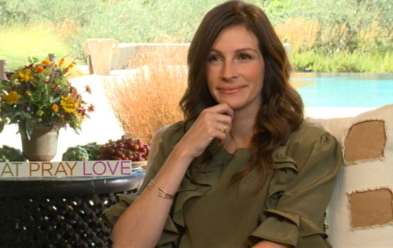 Video – Julia Roberts's Growing Family a Factor in Her Joining Eat Pray Love