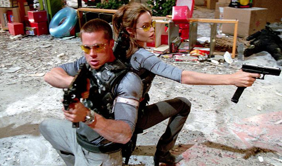 The Couples of <em>Mr. &#038; Mrs. Smith</em> and <em>Bonnie and Clyde</em> Keep Romance Alive With Violence