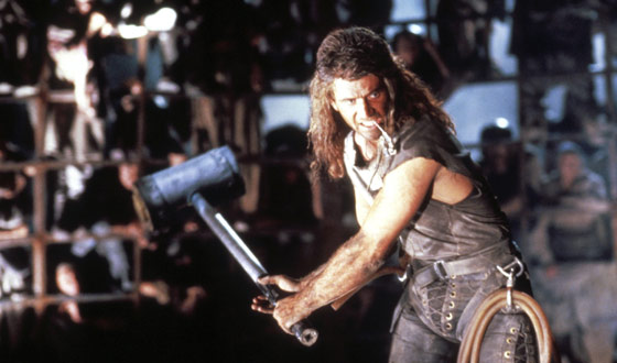 Flashback Five – The Best Movies of Mel Gibson