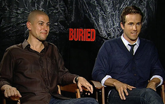 TIFF 2010 – Ryan Reynolds Lit Many of His Own Scenes in Buried