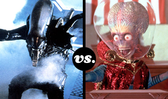 Who Rules the Universe When the E.T.s of <em>Alien</em> and <em>Mars Attacks!</em> Go Head-to-Head?