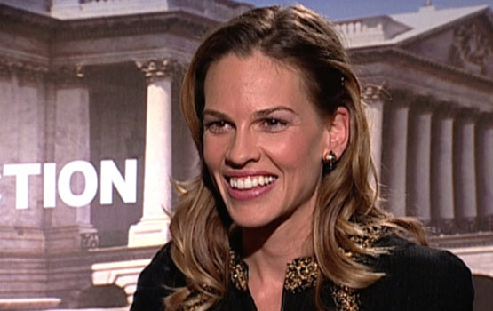 Video – Unbreakable Sibling Bond Motivated Hilary Swank's Conviction Role