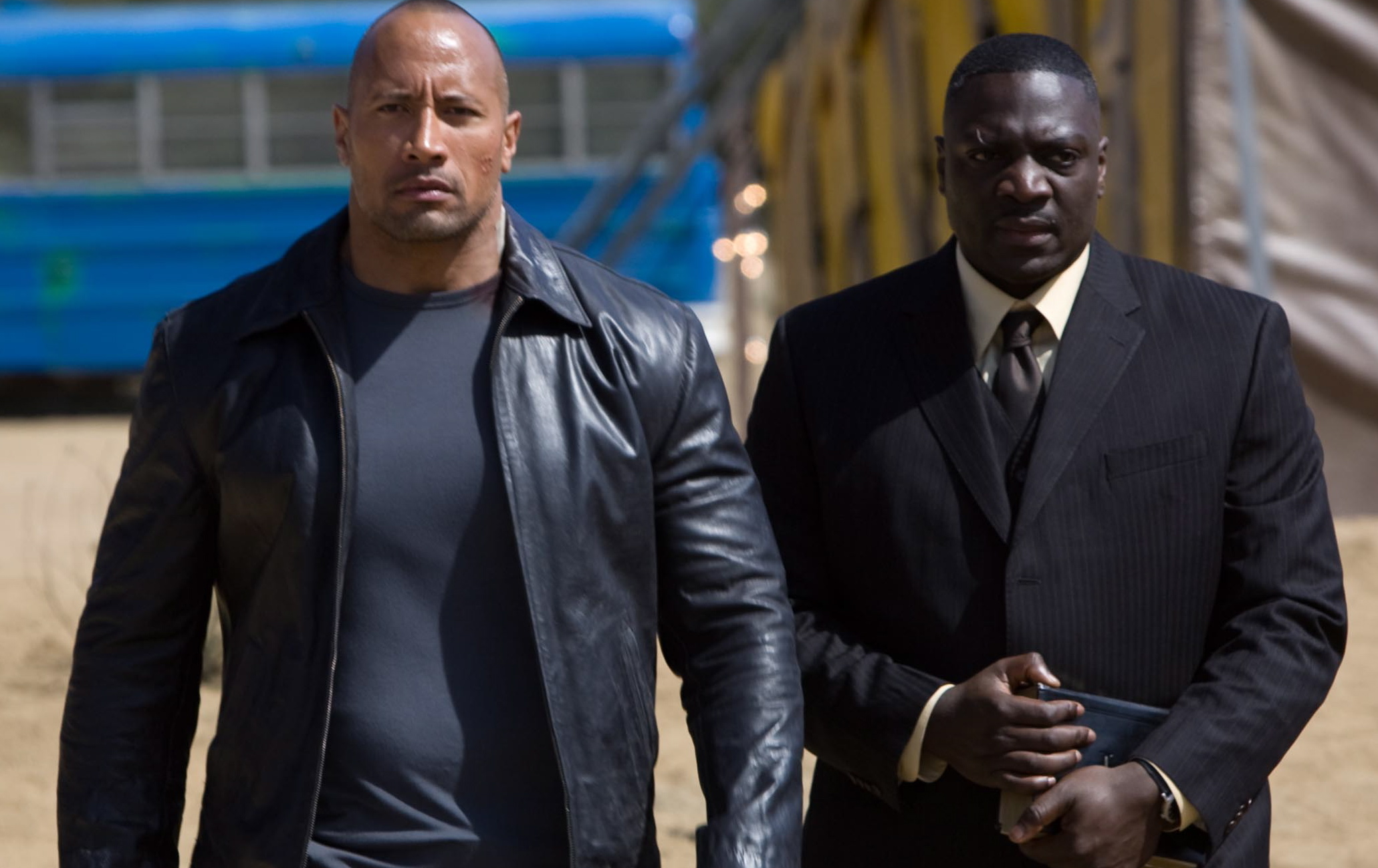 Q&A – Faster's Adewale Akinnuoye-Agbaje on Pranks, Oz, and the Controversial Lost Finale