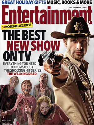 <em>Entertainment Weekly</em> Calls <em>The Walking Dead</em> TV&#8217;s Best New Series in Cover Story