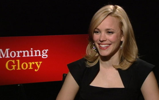 Video – Rachel McAdams Visited Morning News-Shows for Her Morning Glory Prep