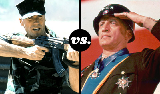 <em>Heartbreak Ridge</em>, <em>Patton</em>, <em>Saving Private Ryan</em> – Which Movie's War Hero Is the Best Vet?