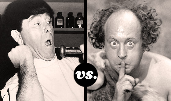 Moe, Larry, Curly, or a Pie to the Face? Which Stooge Has the Best Slapstick Moves?