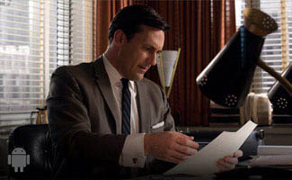 <em>Mad Men</em> Job Interview Quiz Now on Android