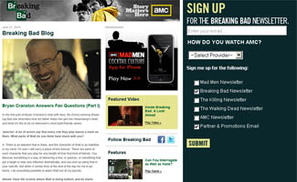 The <em>Breaking Bad</em> Newsletter Delivers All the Latest to Your Inbox. Sign Up Today!