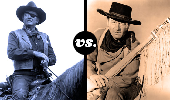 Ringo Kid Meets Ethan Edwards in a Tourney of John Wayne's Toughest Roles