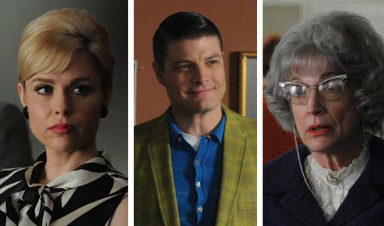 Familiar Faces – Three New <em>Mad Men</em> Season 4 Cast and Character Pages