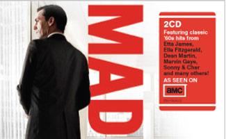 <em>Mad Men: A Musical Companion</em> CD and <em>Mad Men</em> DVD Hit Stores Next Week