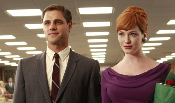 Christina Hendricks Lands <em>Seconds of Pleasure</em>; Rich Sommer Joins the CIA (Sort of)