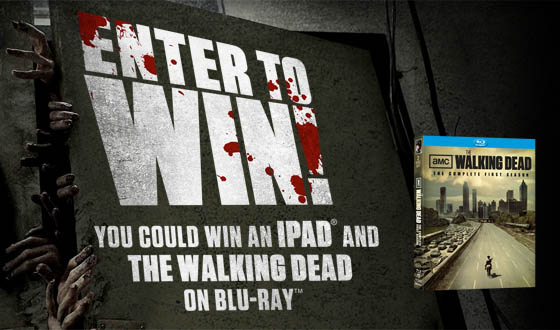 And <em>The Walking Dead</em> iPad Sweepstakes Winners Are&#8230;