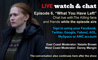Watch & Chat About Episode 6 This Sunday Night