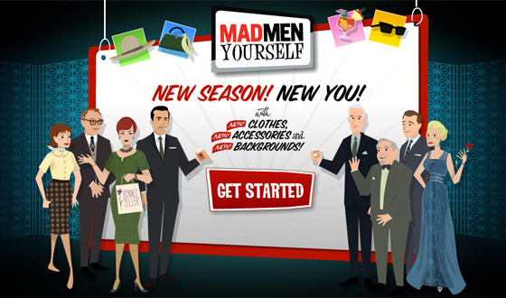 What You're Saying About <em>Mad Men</em> Yourself's Webby Nomination