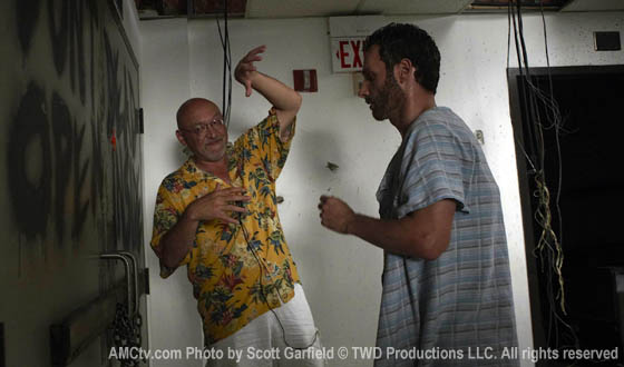 <em>The Walking Dead</em> Cast and Crew on Working With Writer-Director-Producer Frank Darabont