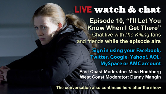 Watch &#038; Chat About <em>The Killing</em> Episode 10 This Sunday Night