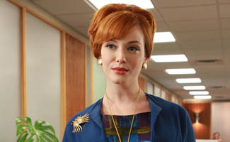 Christina Hendricks on Being One of <em>Maxim</em>'s Hot 100; <em>Mad Men</em> Writers Start on Season 5