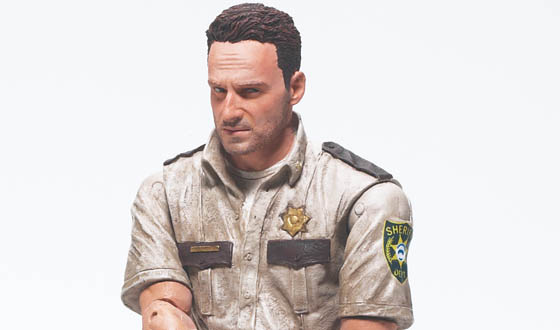 Photos – First Look at the Rick Grimes Action Figure From McFarlane Toys