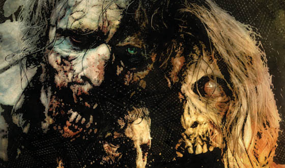 Tim Bradstreet's <em>The Walking Dead</em> Season 2 Poster Revealed