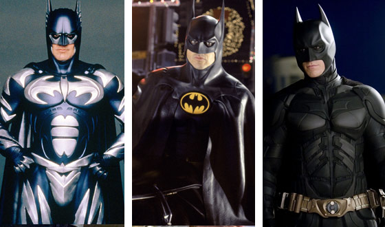Clooney, Keaton, Bale! Holy Batmans! Which Movie Caped Crusader Is the Sexiest?