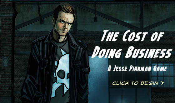 <em>Breaking Bad</em>'s New Graphic Novel Game Lets You Be Jesse Pinkman