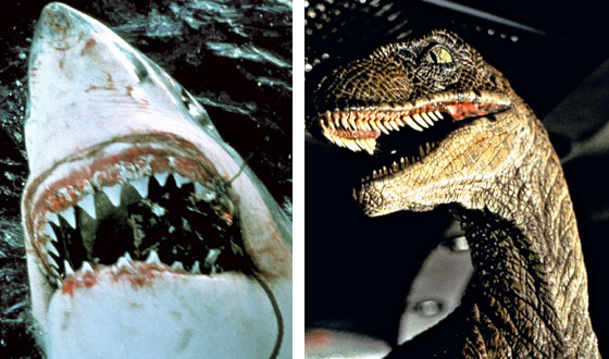 What's the Secret Behind Spielberg's Box-Office Mojo? Sharks, Dinosaurs, and Aliens