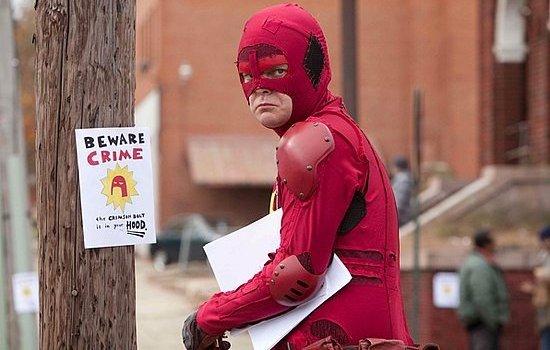 "Rainn Wilson in ""Super"" Joins the Nuttiest Real-Life Superheroes"