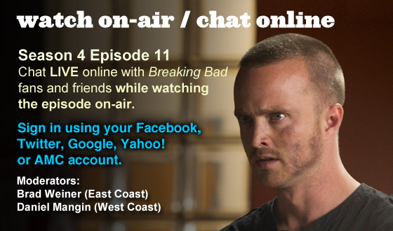 Chat Online While Watching Season 4 Episode 11 On-Air This Sunday Night