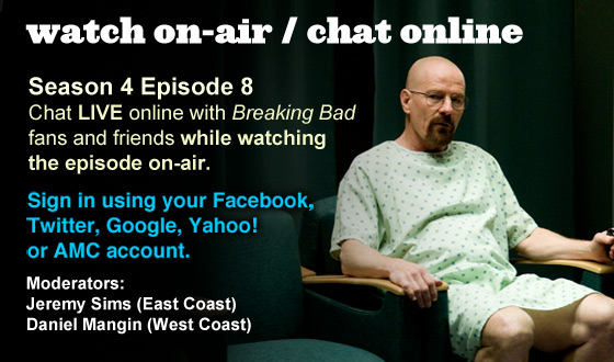 Chat Online While Watching Season 4 Episode 8 On-Air This Sunday Night