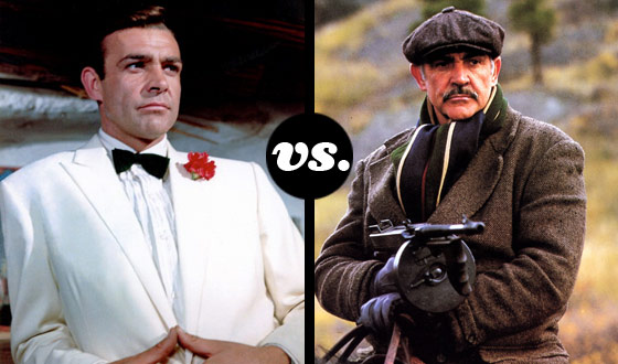 Watch Out, Bond! Get Ready, Dr. Jones! Sean Connery's Characters Now Fight to the Finish