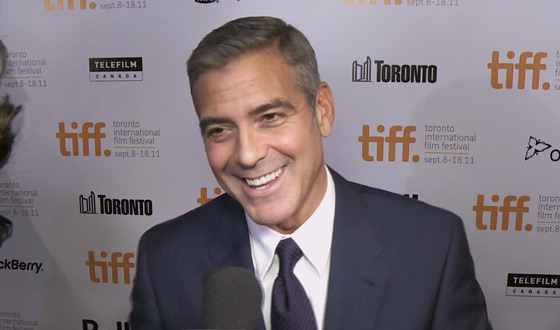 TIFF 2011 Video – George Clooney on Politics, Brad Pitt on Success