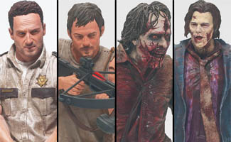 <em>The Walking Dead</em> Action Figures to Debut at New York Comic Con