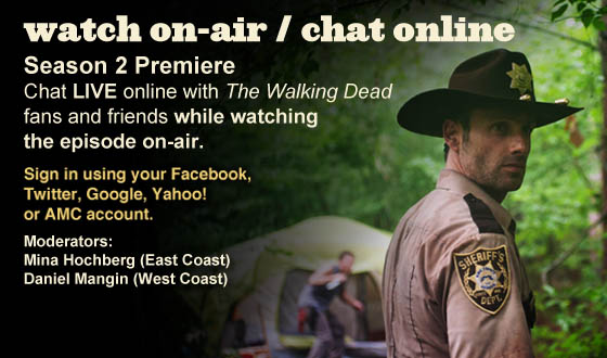 Chat Online While Watching the Season Premiere On-Air This Sunday Night