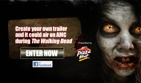 Last Chance to Create Your Own <em>The Walking Dead</em> Trailer With Pizza Hut's Final Cut Contest