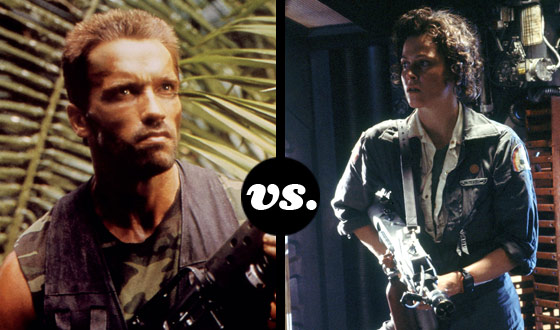 <em>Predator</em>&#8216;s Dutch and <em>Alien</em>&#8216;s Ripley Give Up Fighting Extraterrestrials to Fight Each Other