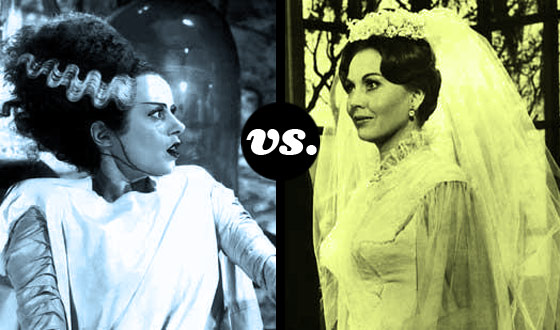 Which Horror Hottie Would You Rather Wed – The Bride of Frankenstein or Hazel Court?
