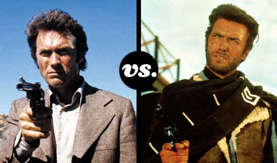 Dirty Harry and Josey Wales Take a Break From Killing Bad Guys to Take on Each Other