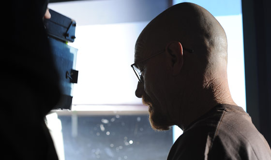 Photos &#8211; <em>Breaking Bad</em> Series Creator Vince Gilligan Shoots Behind the Scenes, Part 2