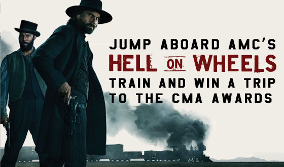 Last Chance to Enter the <em>Hell on Wheels</em> Sweepstakes