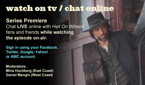 Chat Online While Watching the Series Premiere on TV This Sunday Night